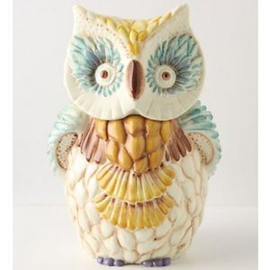 Anthropologie Owl Cookie Jar